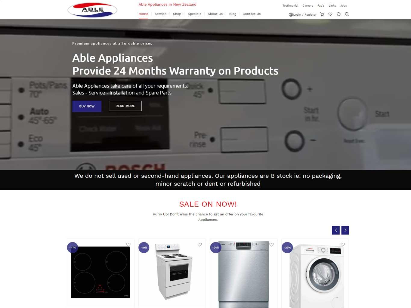Able Appliances Ltd.