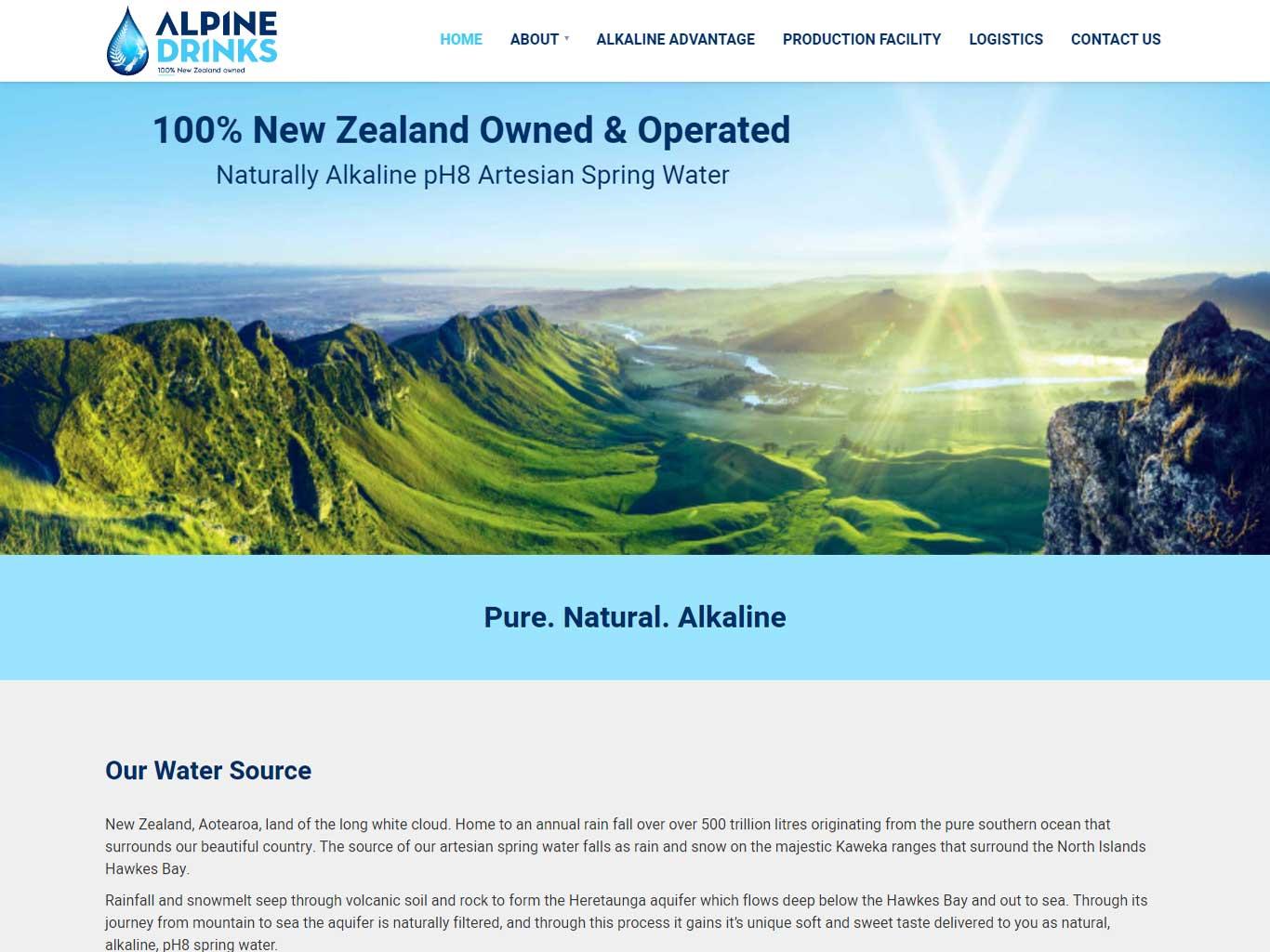 Alpine Drinks