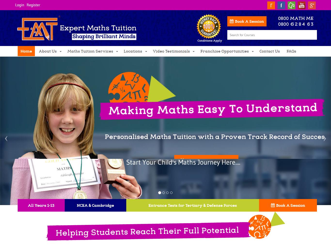 Expert Maths Tuition