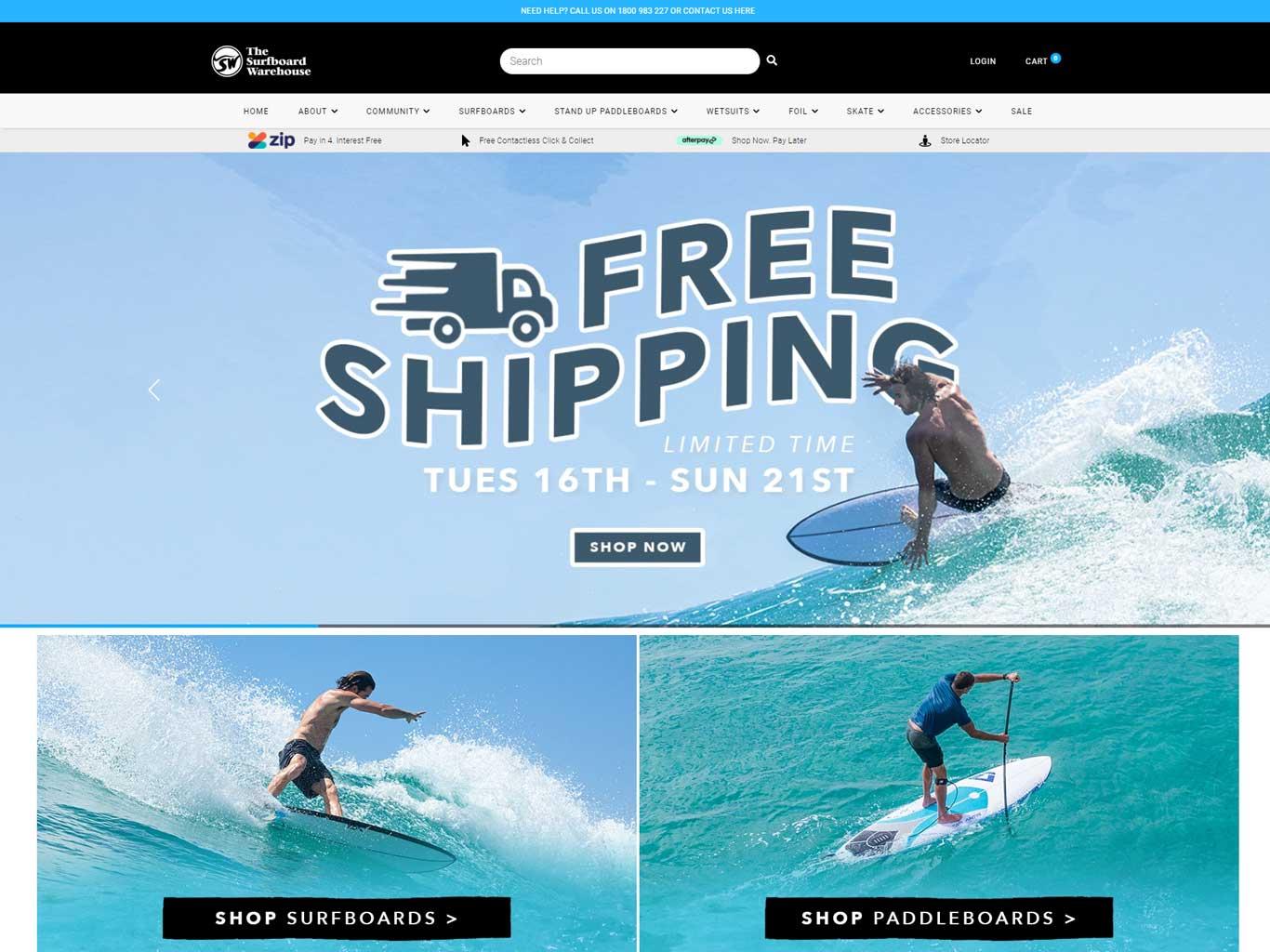 The Surfboard Warehouse Australia